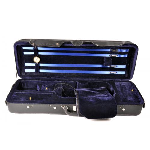 Estuche violín Rapsody Rectangular CSV021 4/4 negro
