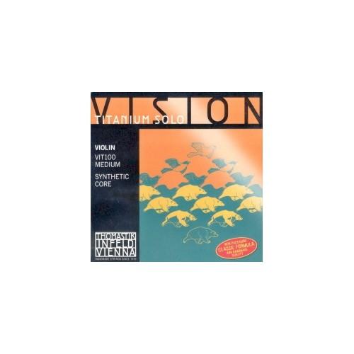 Cuerdas para violin -Vision Titanium Solo